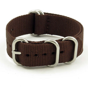Nylon 5 Ring NATO Watch Strap