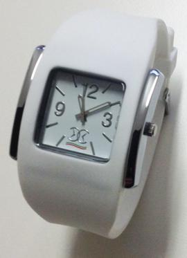 Overclocks Watch GENT RIDER LARGE WHITE OCRIDYL01