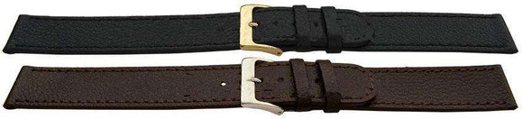Premier Buffalo Grain Watch Strap Flat XXL