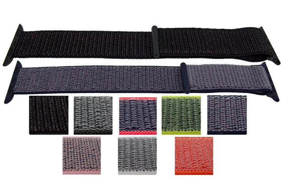 Apple iWatch Strap Hook and Loop Fabric 38mm and 42mm