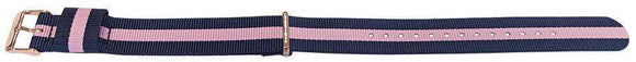 Daniel Wellington Winchester Style Watch Strap N.A.T.O Gold Plated Buckle 18mm and 20mm
