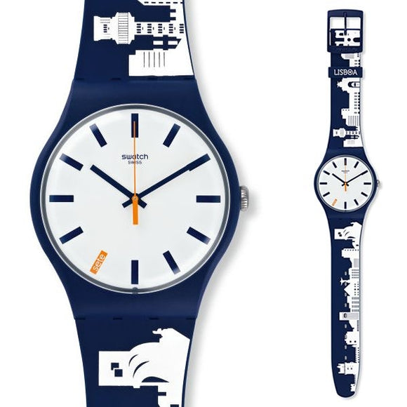 Swatch Watch New Collection Model SUOZ211