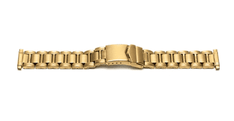 Watch Bracelet Gilt 16mm-22mm 3982G