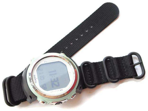 Suunto D4 D4i Watch Strap Adaptors and Heavy Duty NATO Strap