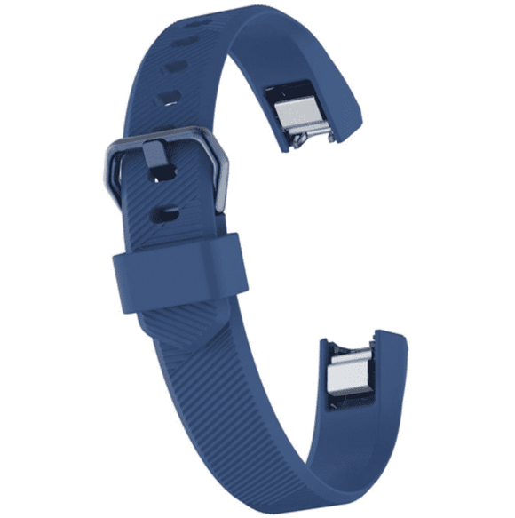 Watch Strap for FITBIT ALTA Navy Blue Silicone Rubber Sizes Small and Large