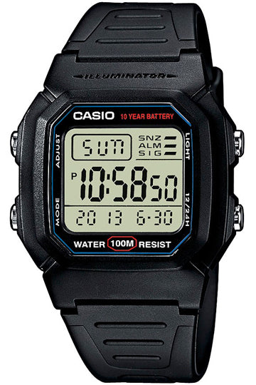 Casio Watch COLLECTION W-800H-1A