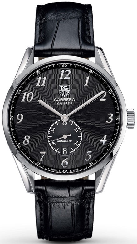 TAG Heuer Watch CARRERA CAL 6 HERITAGE BLACK DIAL WAS2110.FC6180