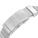 Strapcode Watch Bracelet 20mm, 22mm Solid End Mesh Band MC221817B002P