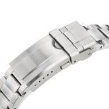 Strapcode Watch Bracelet 20mm Super 3D Oyster 316L Stainless Steel Watch Bracelet for Tudor BB58, Brushed Turning Clasp