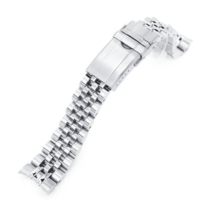Strapcode Watch Bracelet 20mm Angus Jubilee 316L Stainless Steel Watch Bracelet for Tudor BB58, Brushed Turning Clasp