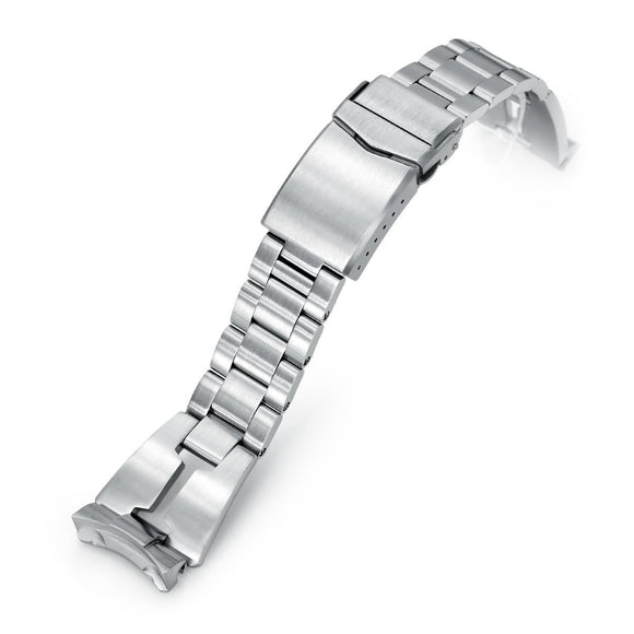 Strapcode Watch Bracelet 22mm Retro Razor SS221820B039-S5