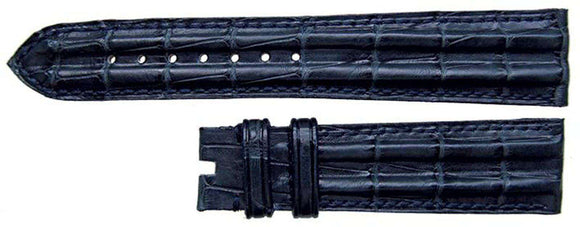 Authentic Omega Watch Strap 18mm Omega Blue Alligator