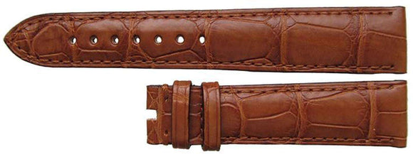 Authentic Omega Watch Strap 19mm Omega Brown Alligator