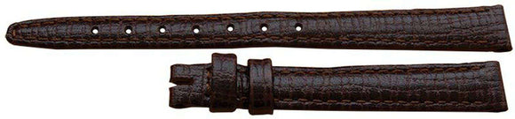 Omega Watch Strap 10mm Omega Brown Calf
