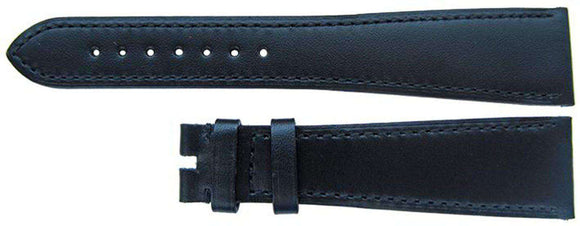 Authentic Omega Watch Strap 22mm Omega Black Calf, XL