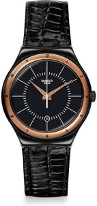 Swatch Watch Model BLACK NACHTIGALL