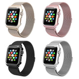 Milanese Mesh Bracelet with Case Protector for Apple Watch