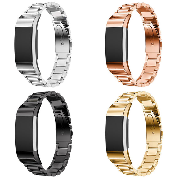 Stainless Steel Link Band for Fitbit Charge 2