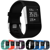 Large Fitbit Surge Silicone Watch Strap