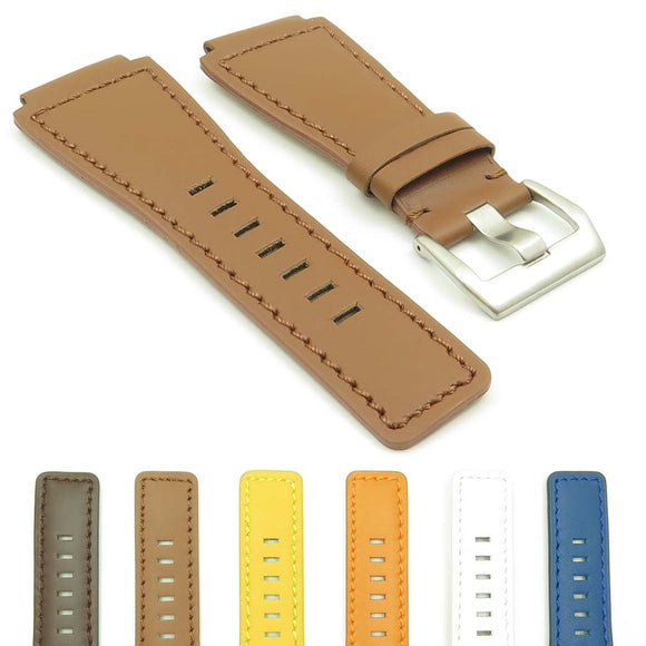 DASSARI Magnum Leather Watch Strap for Bell & Ross