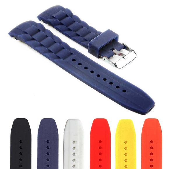 Rubber Oyster Strap with Curved Ends