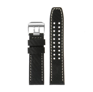 DASSARI 23mm Carbon Fiber Watch Strap for Luminox Evo