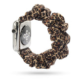 Womens Scrunchie Elastic Watch Band for Apple iWatch Band 38mm, 40mm, 42mm, 44mm
