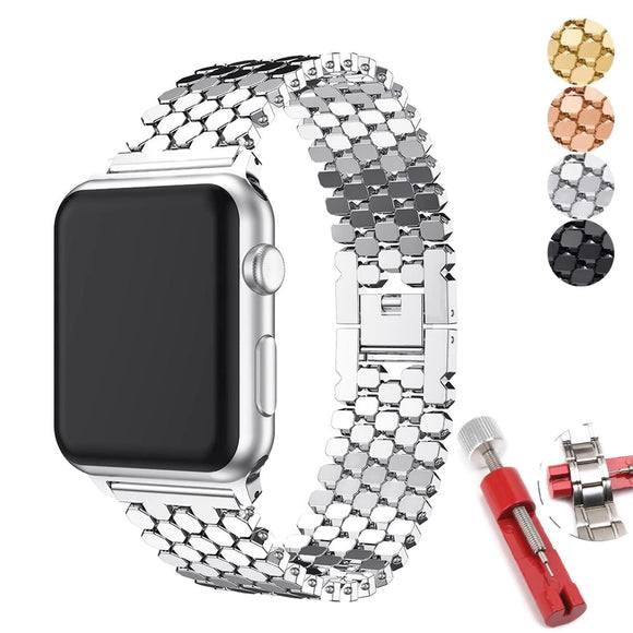 Watch Bracelet for Apple iWatch 44mm, 40mm, 42mm, 38mm for Apple Series 5 4 3 2 1
