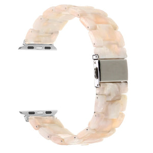 Resin strap for Apple iWatch band 42mm 38mm 44mm 40mm