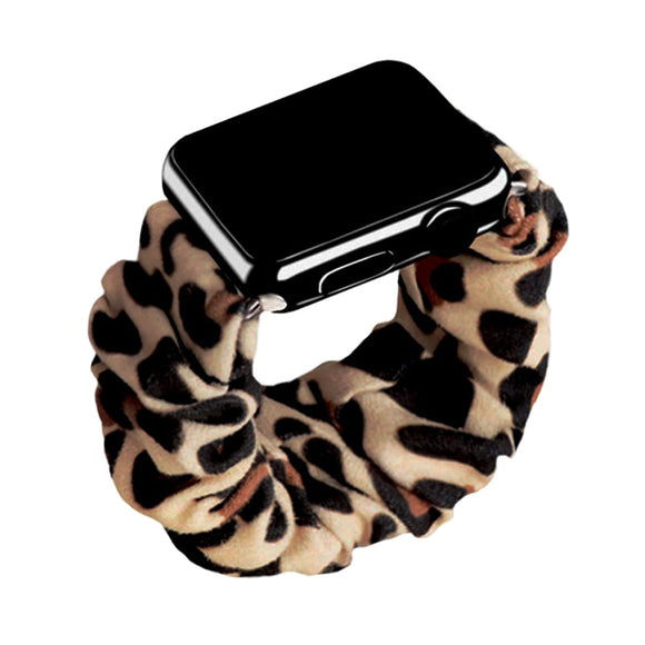 Scrunchie Elastic Strap for Apple iWatch  38mm, 40mm, 42mm, 44mm for Series 5/4/3/2/1