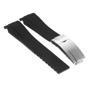 Oysterflex Replacement Strap with Silver Clasp