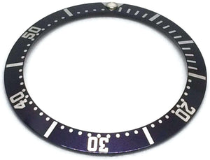Bezel Insert for 38.1mmmm 82SU1361 Navy Blue Swiss Made