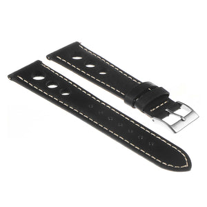 DASSARI Carrera Distressed Leather GT Rally Watch Band