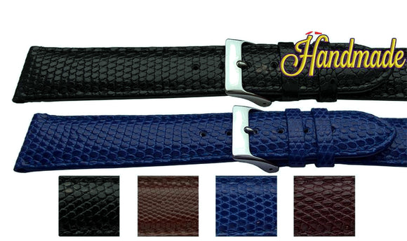 Genuine Lizard Watch Strap for Cartier