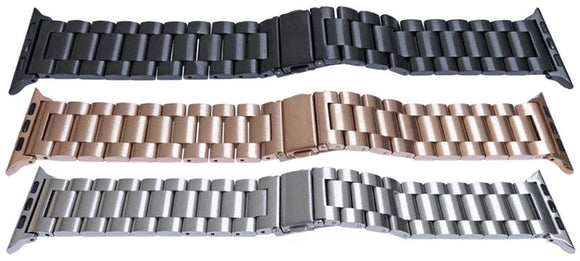 Apple iWatch Style Bracelet Satin Sold Link 38mm and 42mm