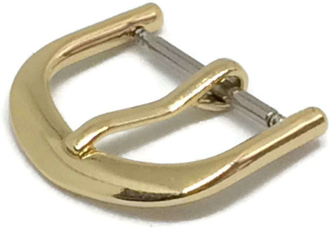 Watch Strap Buckle Bow Shape Gold Plated Size 8mm to 22mm