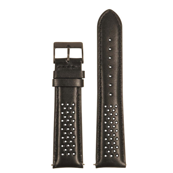 Perforated Rally Strap w/ Black Buckle - Quick Release