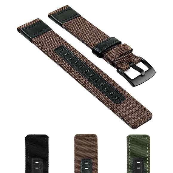 Canvas Strap for Suunto Core w/ Matte Black Buckle