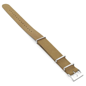 DASSARI Royal Suede Nubuck Leather NATO Strap