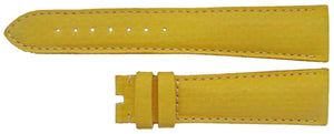 Authentic Omega Watch Strap 19mm Yellow Calf Leather