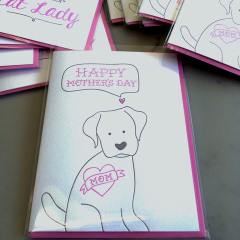 Happy Mother's Day Card - from the Dog