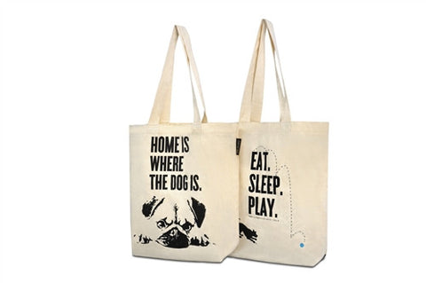 Home is where the Dog Is - Tote Bag