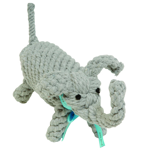 Jumbo Elephant Rope Toy