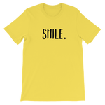 Load image into Gallery viewer, Smile Unisex short sleeve t-shirt