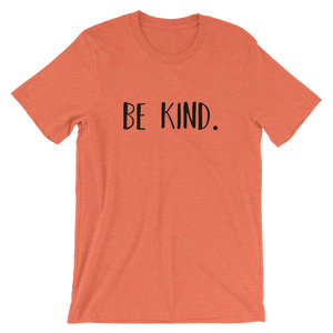 Be Kind Unisex short sleeve t-shirt