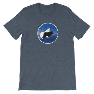 Wolf Unisex short sleeve t-shirt!