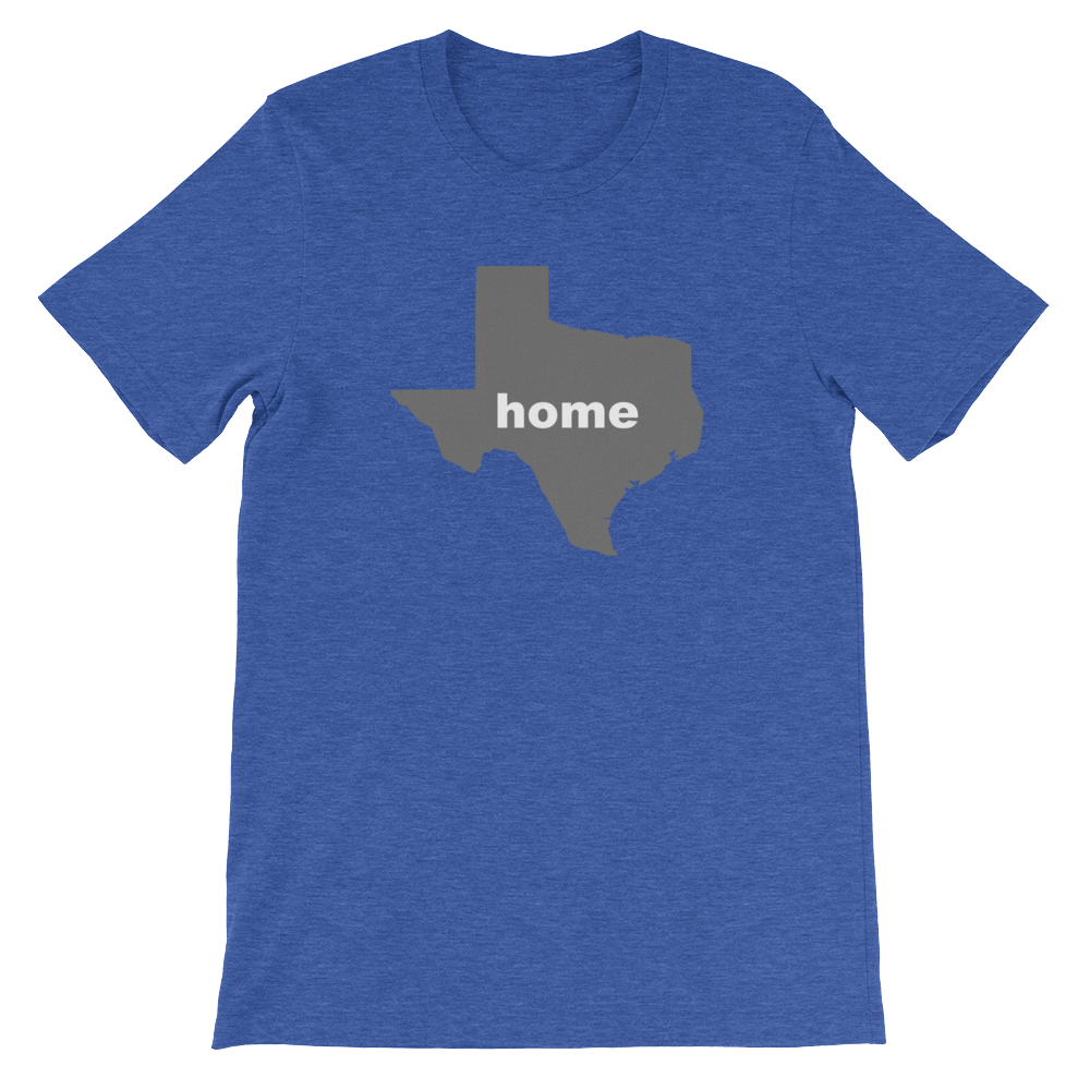 Texas Home Unisex short sleeve t-shirt