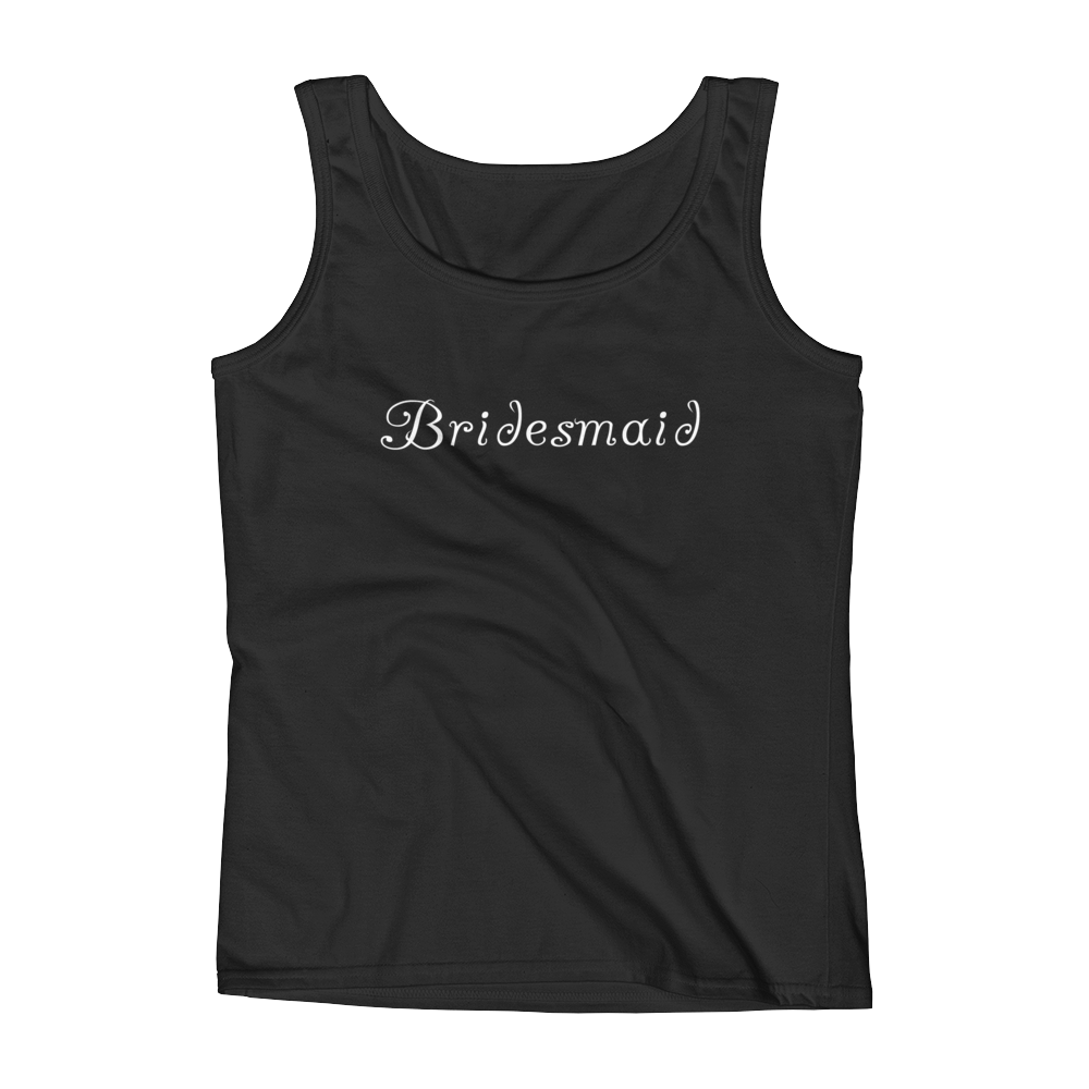 Bridesmaid Ladies' Tank