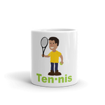 Tennis players Mug