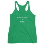 Load image into Gallery viewer, Champagne and Patio Women's tank top